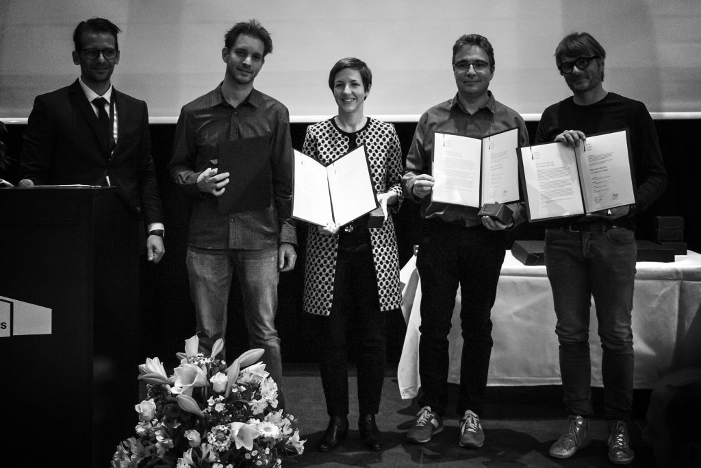 Sottas swiss prix acier 2016 for Wb architectes associes sarl